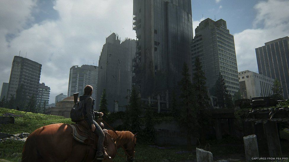 A screenshot from The Last of Us 2