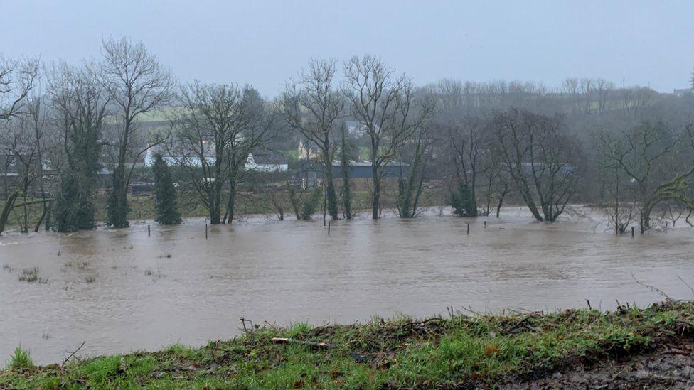 Afon Tâf yn Llanglydwen