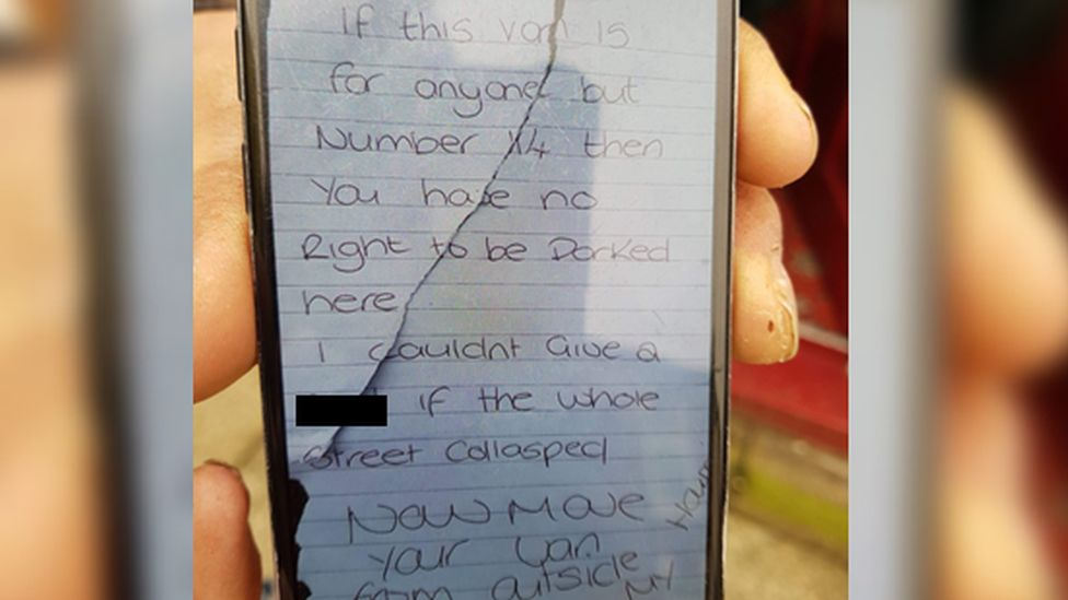 Note on phone