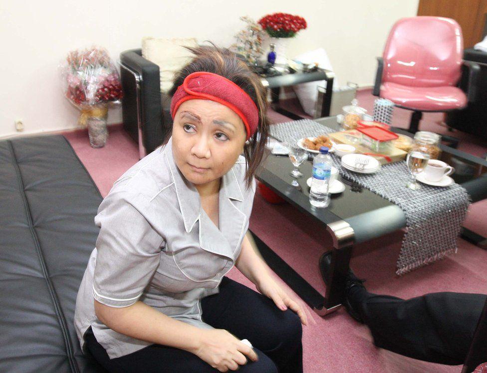Artalyta Suryani in her cell