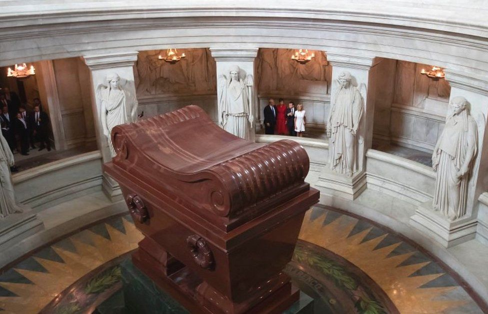 Napoleon's tomb at Les Invalides in Paris, 2017 file pic