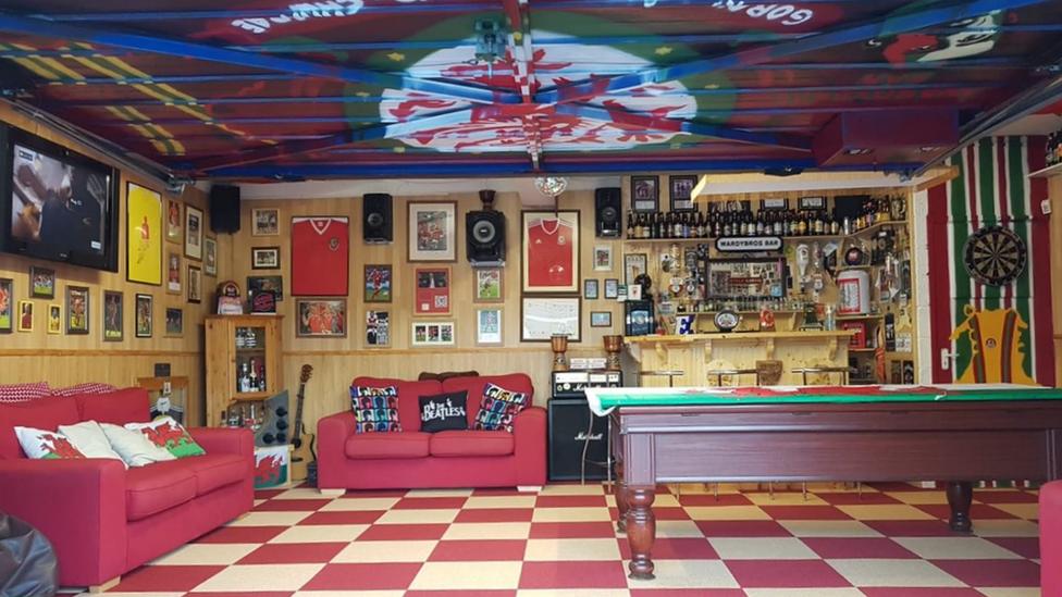 Steve Ward's garage