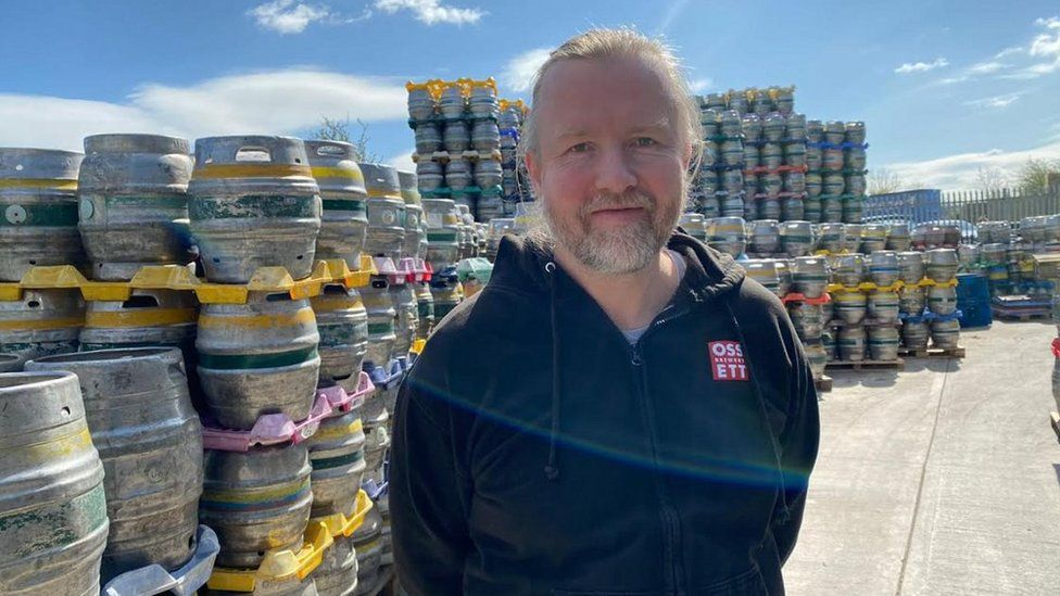 Jamie Lawson of Ossett Brewery