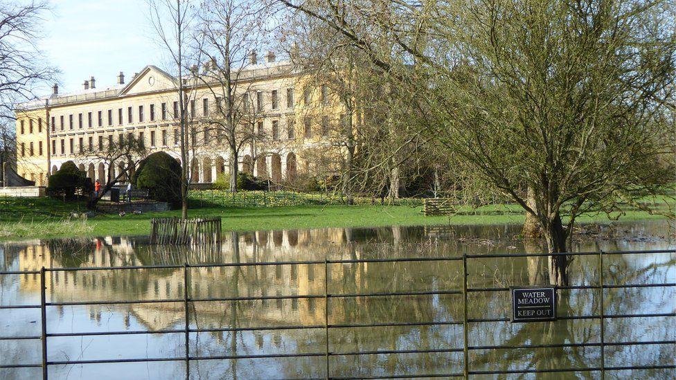 Water meadow, Magdalen College