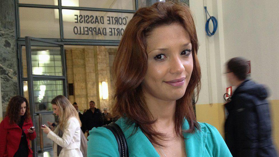 Moroccan model Imane Fadil (2012 file photo)