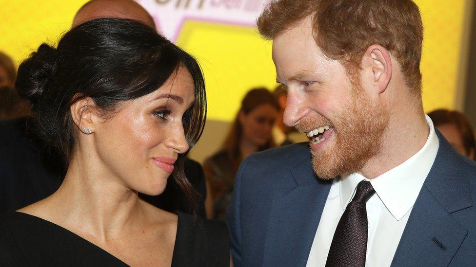 Meghan Markle with Prince Harry