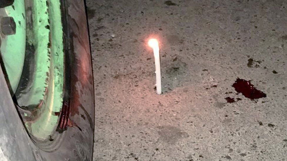 Candle blood