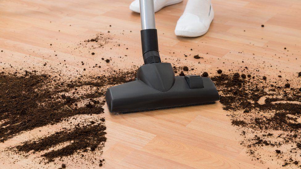 Using a vacuum cleaner