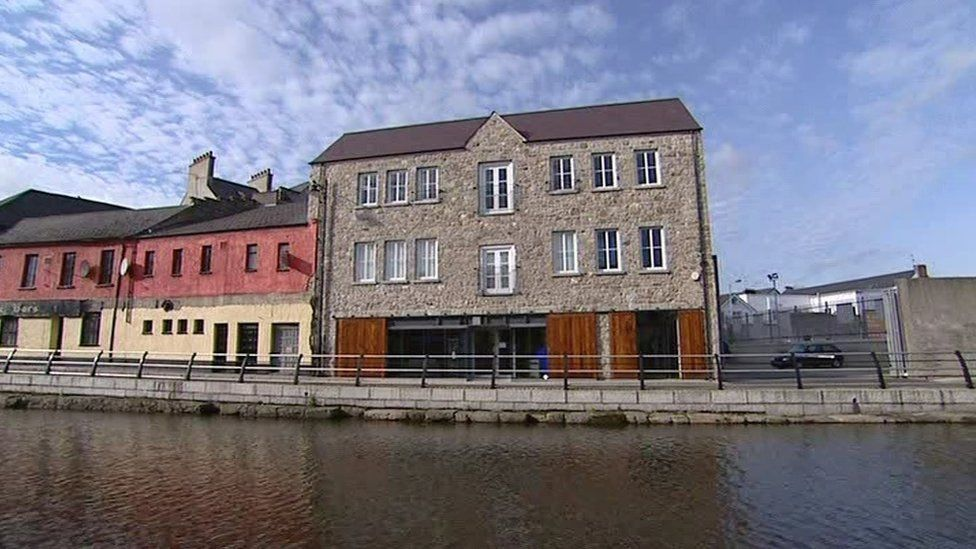 First Derivatives' head office is based on Canal Quay, near Sugar Island, in Newry