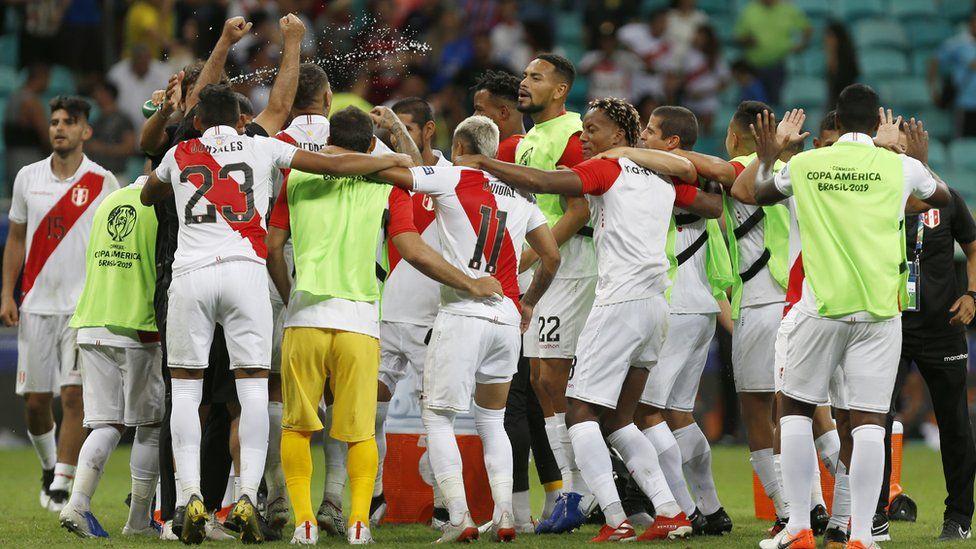 """Copa América Brasil 2019: Perú pasa a semifinales tras derrotar a Uruguay en penales y jugará el """"clásico del Pacífico"""" contra Chile"""