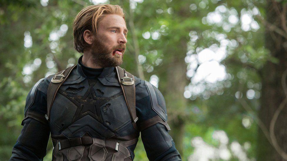 Chris Pratt as Captain America in Avengers