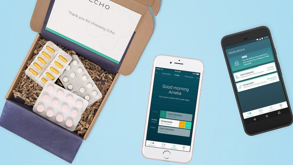 Echo packaging and app