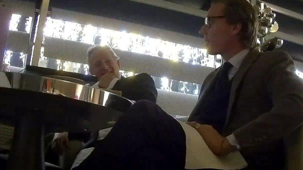 Alexander Nix in Channel 4 footage