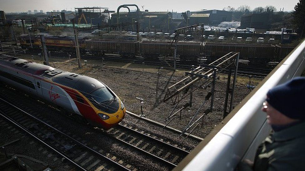 Willesden Junction, near the Old Oak Common site which will be redeveloped as part of HS2
