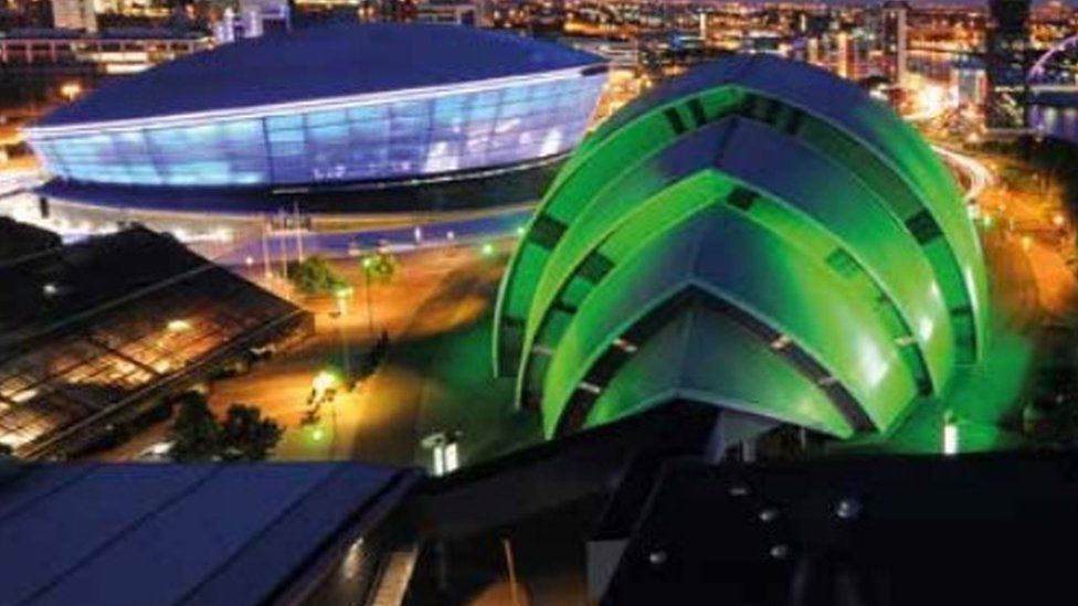 The Hydro and Armadillo in Glasgow
