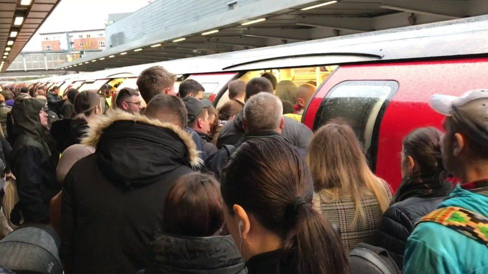 Jubilee Line at Stratford