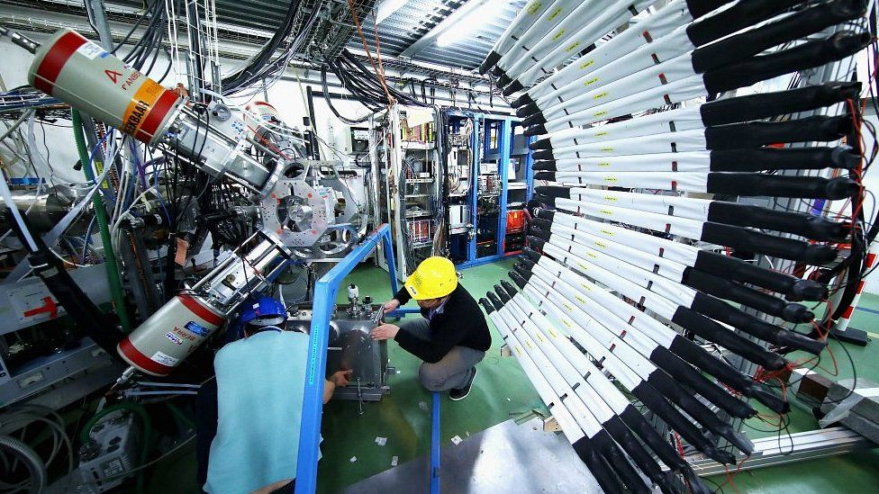 Cern, the World's Largest Particle Physics Laboratory on April 19, 2017 in Switzerland
