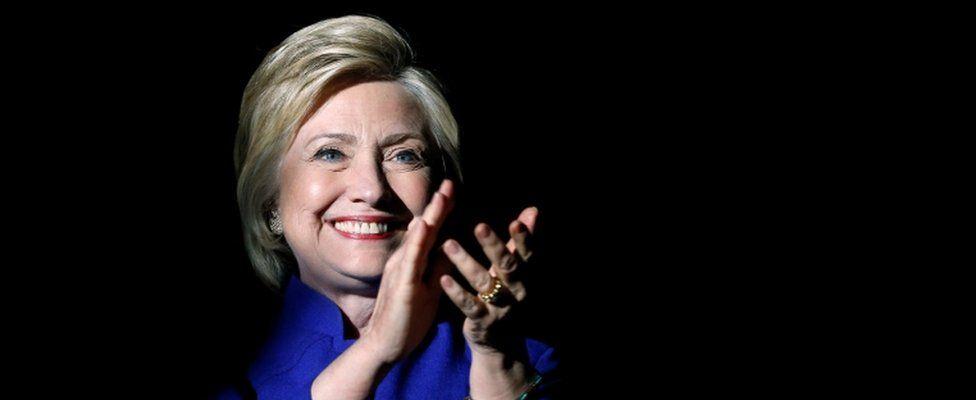 Hillary Clinton in Los Angeles, 6 June