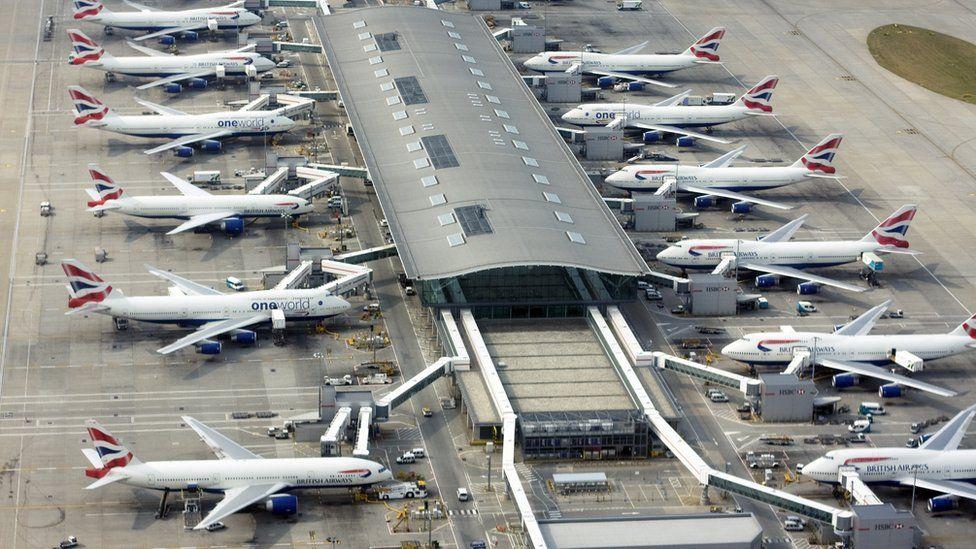 Heathrow Terminal five