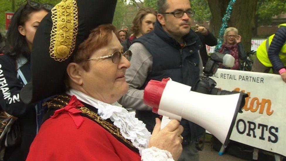 The Mayor of Southampton