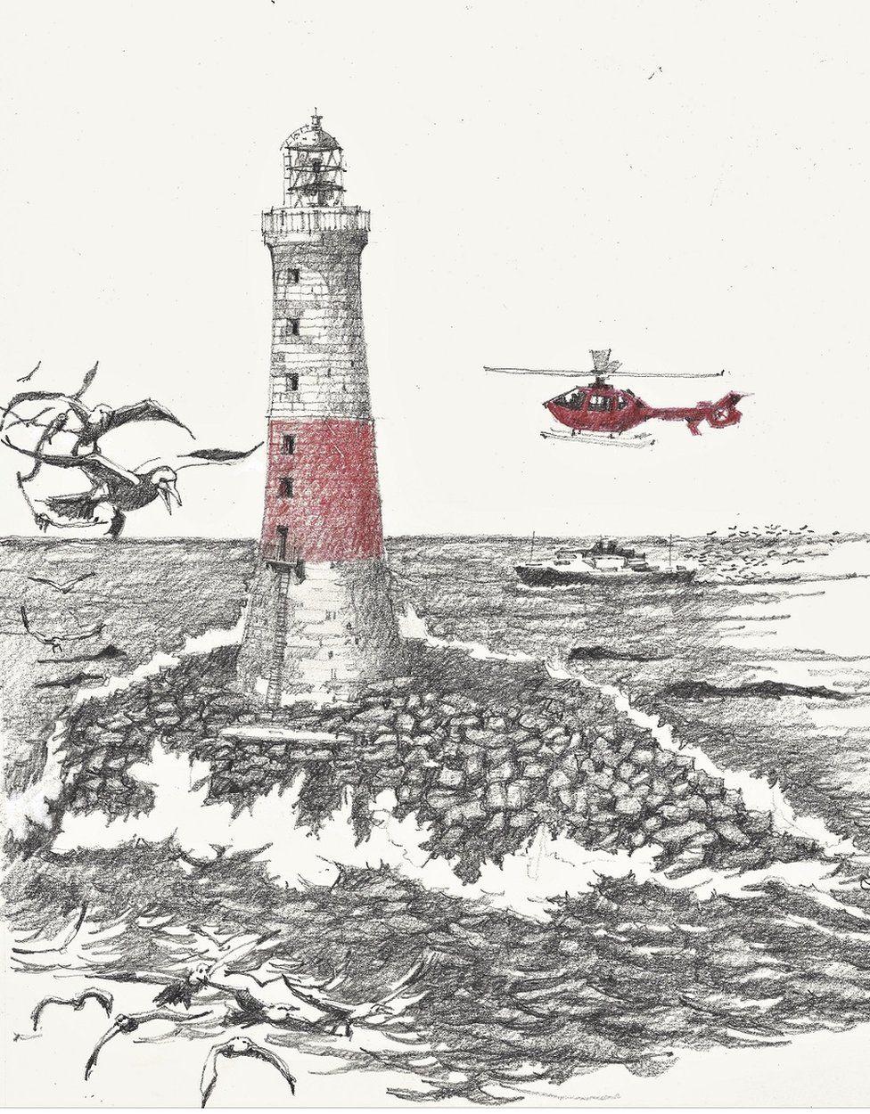 Dubh Artach lighthouse