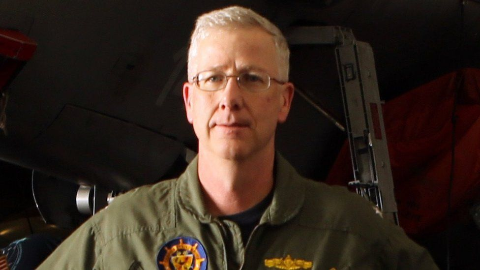 US Navy Rear Admiral Kevin M. Sweeney pictured in 2014