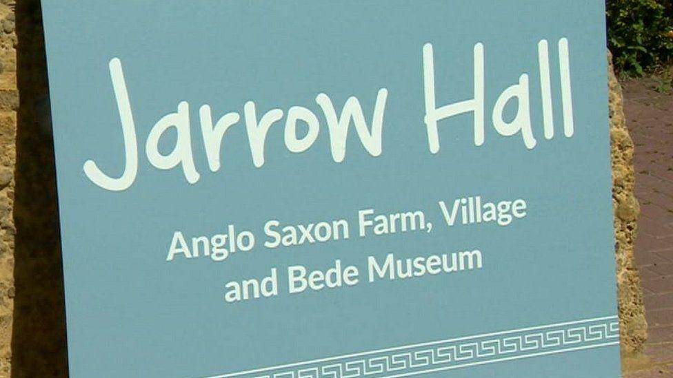 Jarrow Hall sign