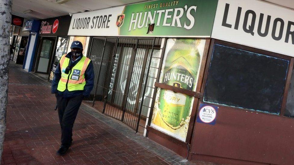 Liquor store in Cape Town