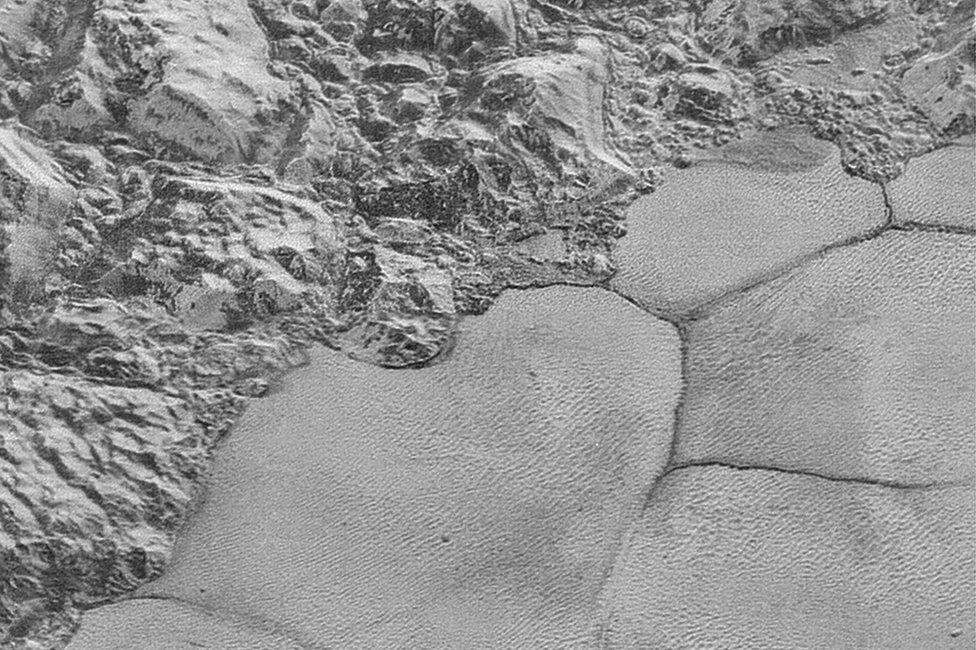 Dunes in Sputnik Planitia