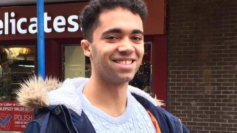George Acquaah, 20.