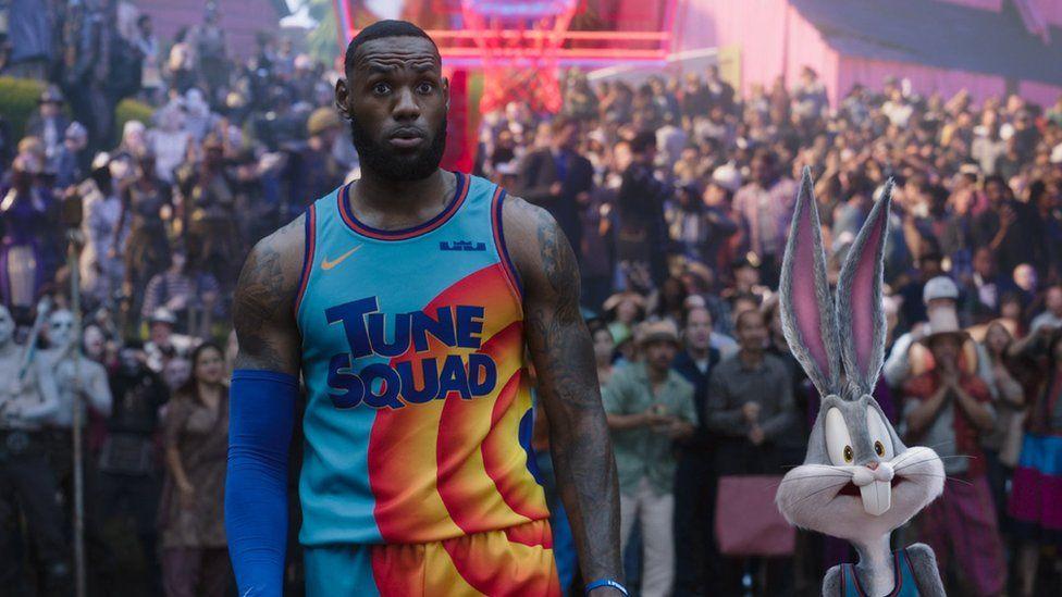 Space Jam: LeBron James sequel slam dunks Black Widow at box office thumbnail