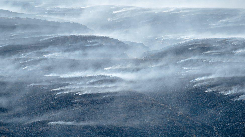 Winter Hill fires