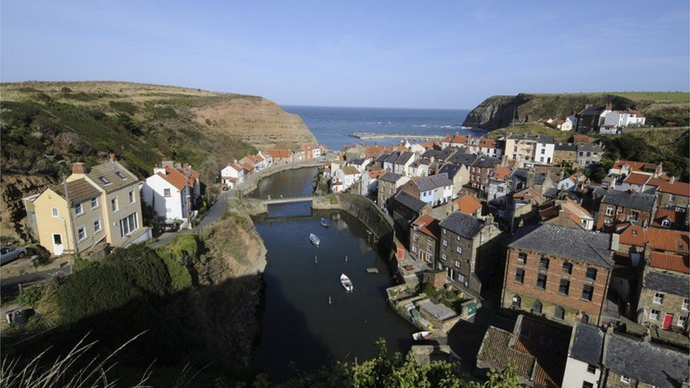 Staithes near Whitby is the location for CBeebies' Old Jack's Boat