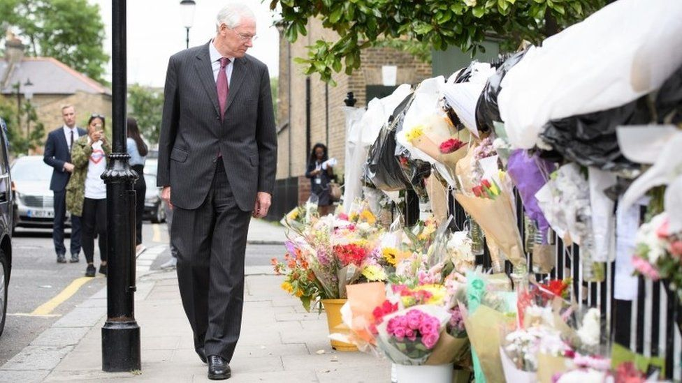 Sir Martin Moore-Bick looks at floral tributes