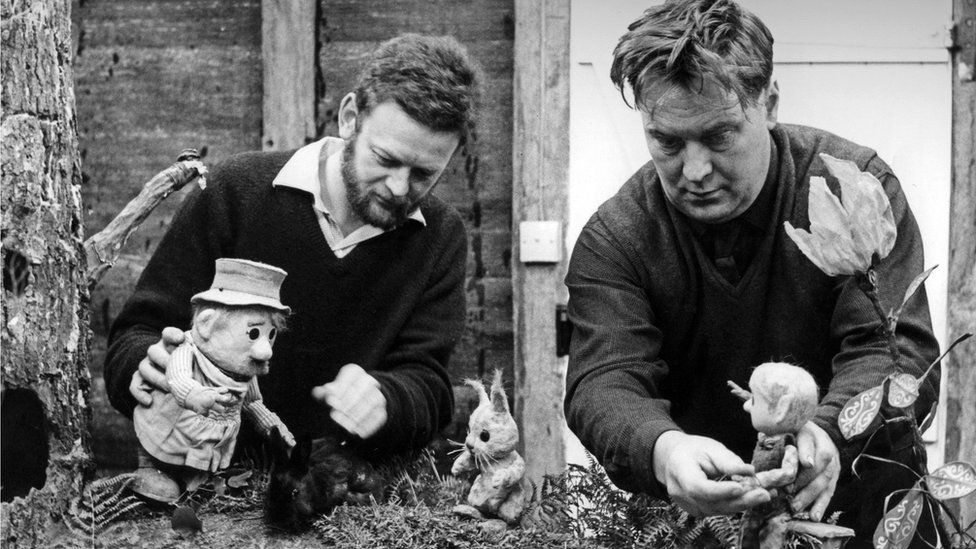 Peter Firmin and Oliver Postgate's Pogles' Wood was part of the BBC's 'Watch with Mother' series from 1965