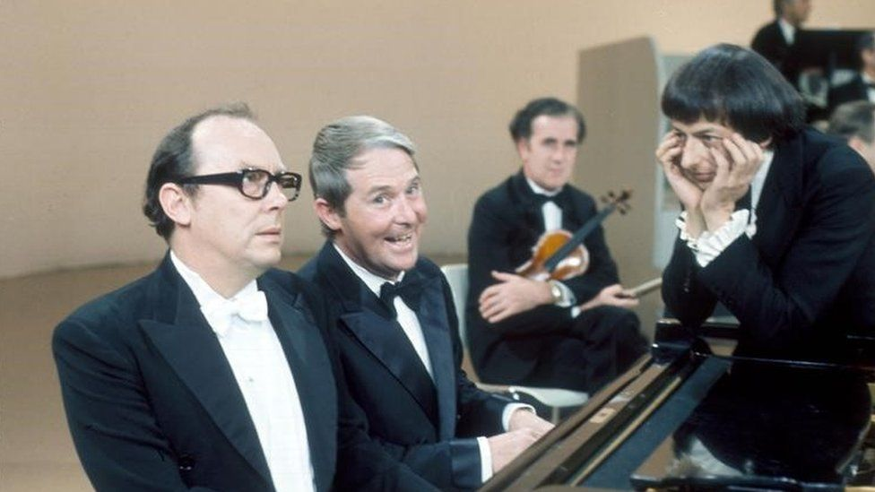 Previn with Morecambe & Wise