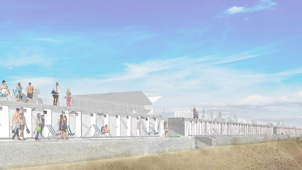 New beach hut designs