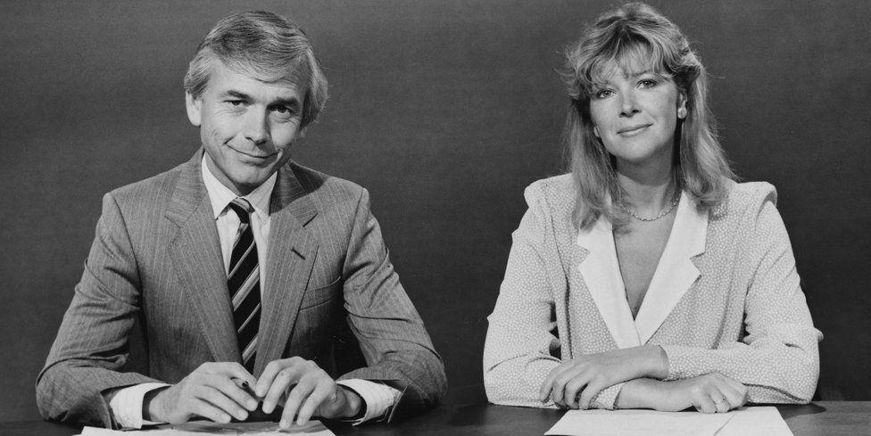 John Humphrys with Julia Somerville