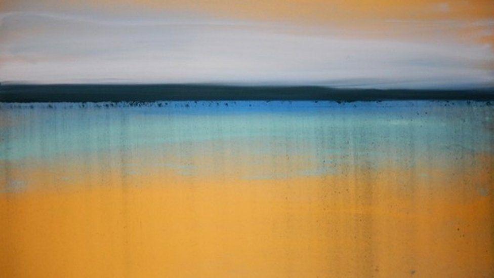 Sarah Reid painting