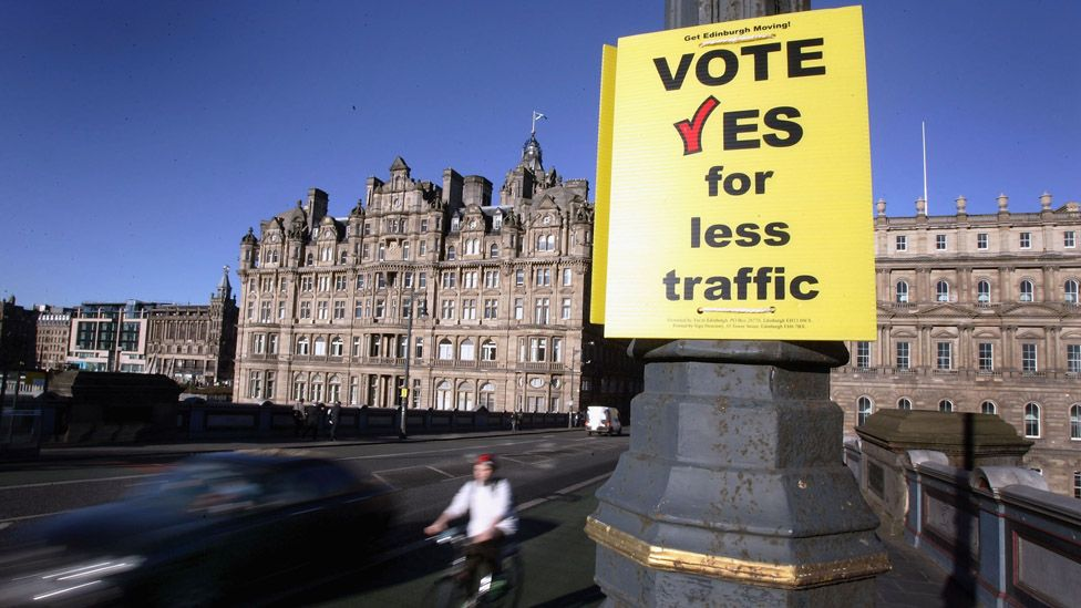 Edinburgh congestion charge campaign