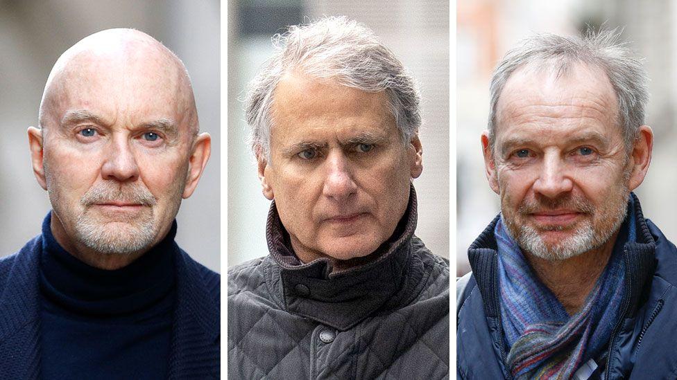 Roger Jenkins, Thomas Kalari and Richard Boath