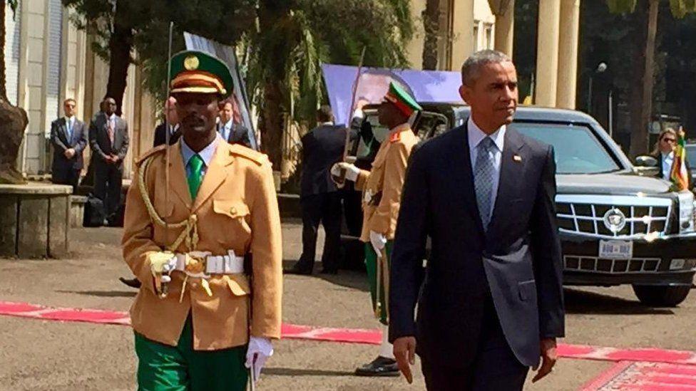 Barack Obama in Ethiopia