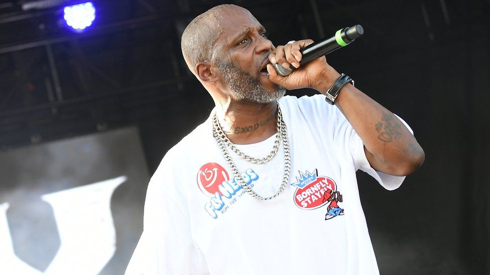 DMX on stage in 2019