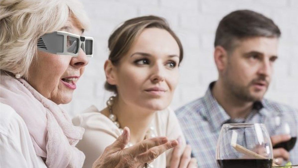 ICI Vision glasses