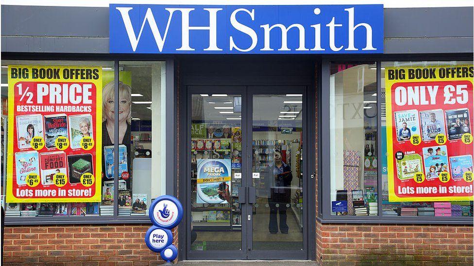 WH Smith shop