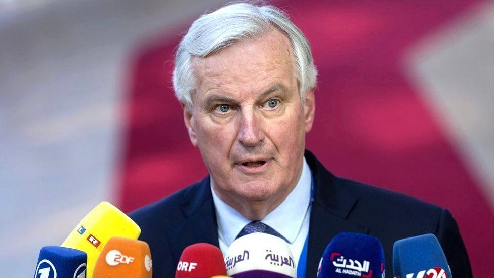 European chief Brexit negotiator Michel Barnier in Brussels, Belgium, 10 April 2019