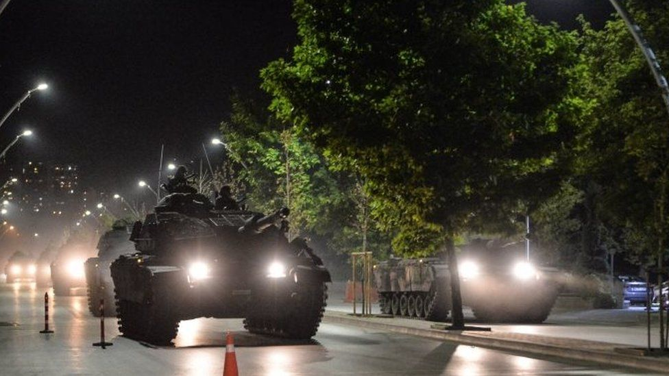 Attempted military coup in Turkey in 2016