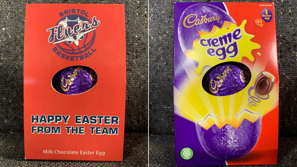 Bristol City fans anger at £7 'rip-off' Easter egg in club shop