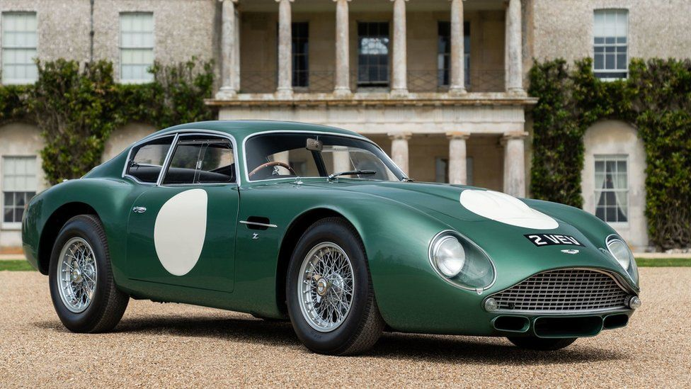 Classic Aston Martin Sells For Record 10m At Auction Bbc News