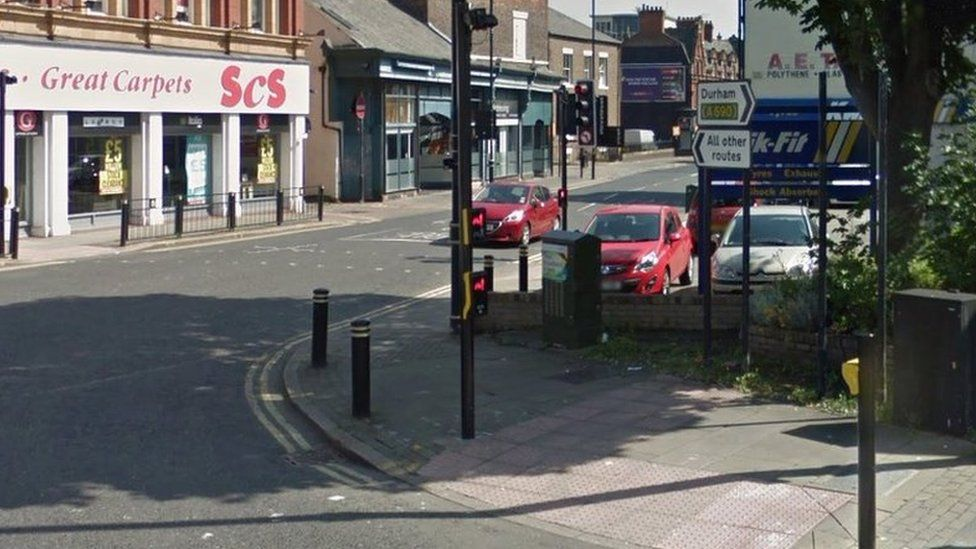 Google street view of junction of Borough Road and Toward Road